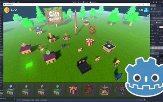 Atelier GODOT GAME ENGINE : Création d'un CITY BUILDER 3D