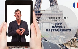 French for Restaurants/Hotels course B1 official certificate