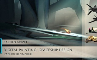 Spaceship Design : L'approche simplifiée Photoshop