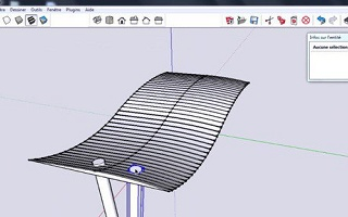 Shetchup : copies multiples le long d'une courbe Sketchup