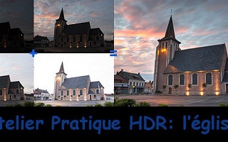 Atelier pratique HDR : l'église Lightroom