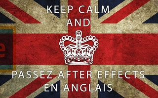 Gratuit : Passez After Effects en anglais After Effects